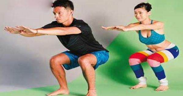 超強!每天5分鐘「這樣蹲」等於步行1小時,1周後血液循環年輕10歲!還能訓練到身上最重要的肌肉!