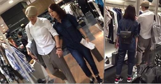 民眾直擊「楊丞琳」與緋聞男友東京約會,小倆口十指緊扣的甜蜜模樣,真是愛得很高調!