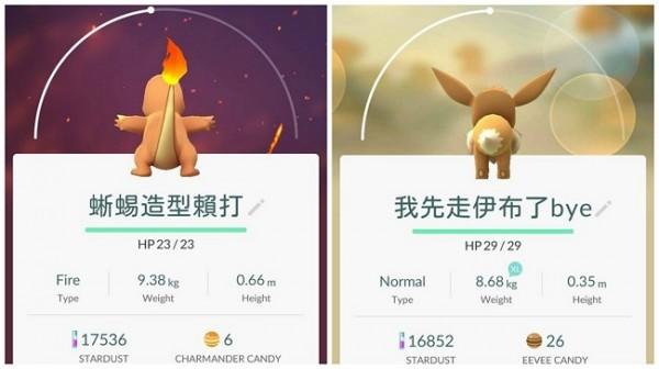 原來「寶可夢背面」長這樣?網友為PokemonGo轉身「背影」命名廢到笑,根本朱自清在世!
