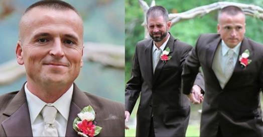 新娘的爸爸在紅毯前突然抓了另一個人,一個令人震撼的瞬間...