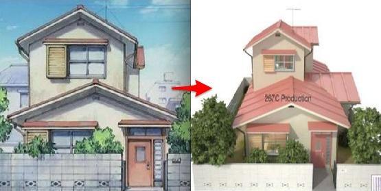 3D版「大雄的家」簡直就是豪華別墅,有錢人全都看跪了!尤其「多啦A夢」睡覺的壁櫥,看完眼淚都快飆出來了...