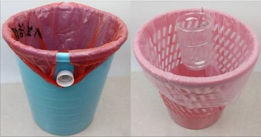 在「垃圾桶」上輕輕鋸個口,竟然變成居家好幫手,舊水桶也能拿來改造,別浪費了!