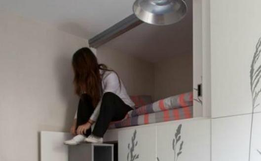 看看巴黎8平方米的單身公寓,這才叫做「設計」,風格簡約舒適好想住啊!