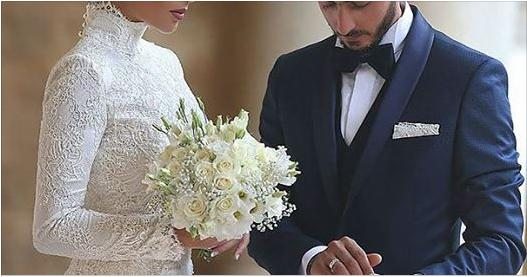 19張「穆斯林女人最美的一天」的穆斯林婚紗照,第一張絕美頭巾震驚全美!