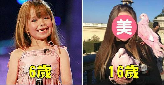 記得10年前「一開口震驚全球」的小康妮嗎?16歲的她「女神臉蛋」再次征服全世界!