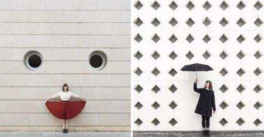 2位正妹跑遍全世界「只為和建築物拍照」,然而卻憑著搞怪創意引起網友追蹤讚爆!