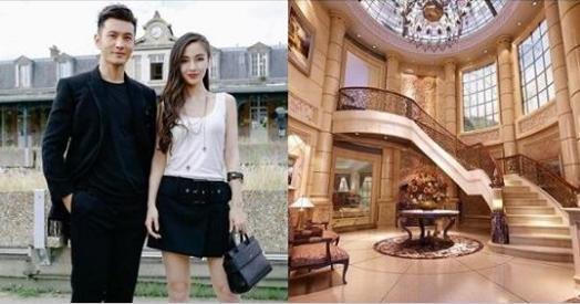 黃曉明當年砸兩億「高調娶Angelababy」,如今高級豪宅照曝光...比皇宮還奢華!