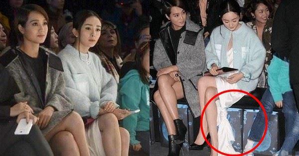 楊冪參加活動被旁邊的小女孩踩到裙尾,她的反應證實了人品!