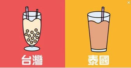 10張讓全世界終於搞懂「台灣」與「泰國」原來不是同一個國家的差異對比圖!