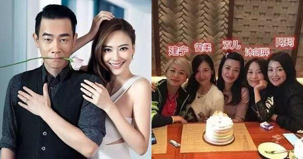 18年後陳小春5個老婆湊一桌,梁小冰最美,最慘的是她!
