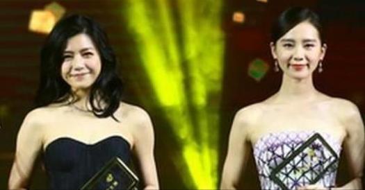 30歲劉詩詩和34歲陳妍希合照,畫面盡是尷尬!相差4歲居然完敗!