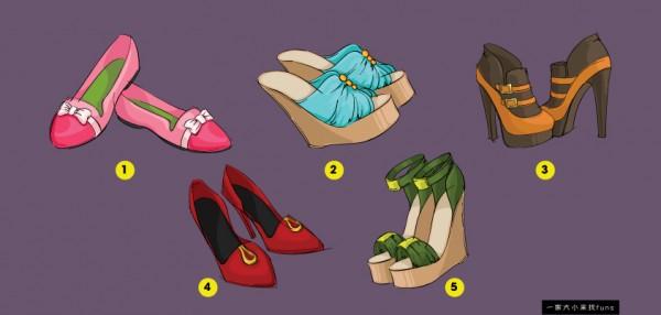 【測驗】選一隻最順眼的鞋子,測測看哪種類型的男人被你吸引!