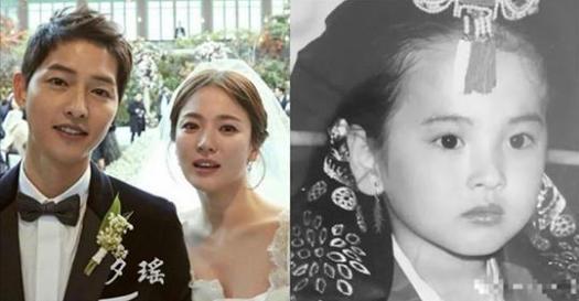 只有看了「宋慧喬」的童年照,你才知道「宋仲基」娶到她有多幸福!